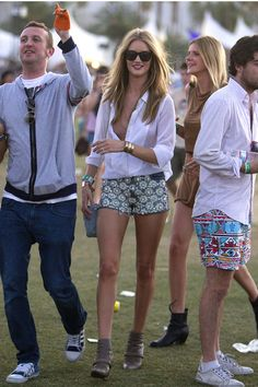 Celebrities' Best Music Festival Looks Ever - ELLE.com