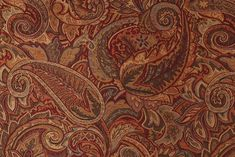 Kopen Tapestry Upholstery Fabric in Crimson. This high end woven upholstery weight fabric is suited for uses requiring a more durable designer fabric. Uses include any upholstery project, sofas,. Chair And Ottoman, Fabric Design, Paisley, Tapestry, Upholstery Fabrics, Sofas, Yard, Embroidery, Sewing