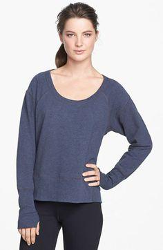 Zella 'Easy' Sweatshirt available at #Nordstrom