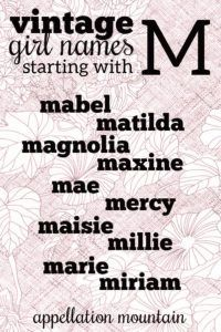 Maisie, Millie, Magnolia + more sweetly vintage #girlnames #babynames #namingbaby #appellationmountain M Girl Names, Flower Names For Girls, M Names, Vintage Baby Names, Place Names, Names With Meaning, Character Names, Writing Resources, Character Development
