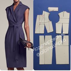 54 Ideas Sewing Dress Patterns Dressmaking For 2019 Sewing Dress, Dress Sewing Patterns, Sewing Clothes, Clothing Patterns, Diy Clothes, Pattern Dress, Fashion Sewing, Diy Fashion, Ideias Fashion