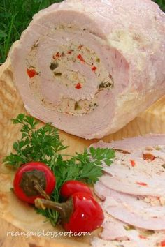 misz masz, blog kulinarny, blog hobbistyczny Cold Cuts, Kielbasa, Pina Colada, Pork Recipes, Queso, Sausage, Food Porn, Food And Drink, Dinner