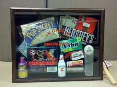 College Survival Kit:  In Case of Emergency-Break Glass!
