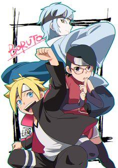 Boruto, Mitsuki, Sarada