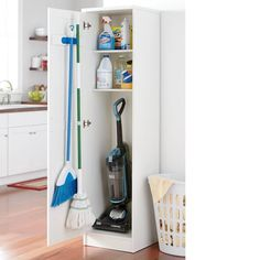 Home Decor Utility Cabinet, , large Tips to Help Kids Concentrate in Class All of us want our childr Broom Storage, Utility Room Storage, Utility Closet, Laundry Room Organization, Laundry Room Design, Diy Storage, Cleaning Supply Storage, Organizing, Cleaning Supplies