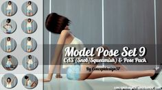 Model Pose Set 9 CAS & Pose Pack version at ConceptDesign97 via Sims 4 Updates Check more at http://sims4updates.net/poses/model-pose-set-9-cas-pose-pack-version-at-conceptdesign97/
