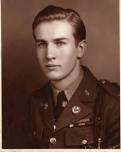 He was a decorated WWII Veteran, who received the purple heart after getting wounded in the battle of Okinawa