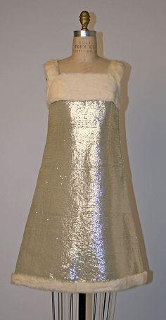Evening ensemble  Courrège, 1967
