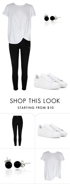 """""""Sans titre #931"""" by stalialightwood ❤ liked on Polyvore featuring River Island, adidas, Bling Jewelry and MINKPINK"""