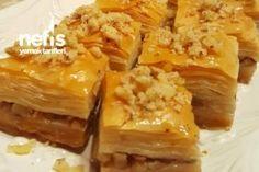 El Açması Cevizli Ev Baklavası Tarifi Spanakopita, Cabbage, Vegetables, Ethnic Recipes, Food, Essen, Cabbages, Vegetable Recipes, Meals