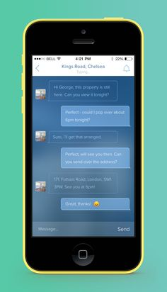Inside Chat by George Gliddon Ui Ux Design, Interface Design, User Interface, Mobile App Design, Mobile Ui, Graphic Eyes, Mobile Applications, Ui Design Inspiration, Chat App