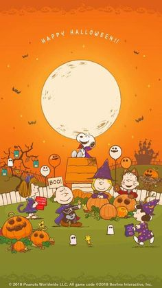 Peanuts Halloween, Halloween 4, Halloween Quotes, Holidays Halloween, Vintage Halloween, Snoopy Love, Charlie Brown And Snoopy, Snoopy And Woodstock, Fall Wallpaper