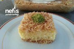 Kadayıflı Revani #kadayıflırevani #şerbetlitatlılar #nefisyemektarifleri #yemektarifleri #tarifsunum #lezzetlitarifler #lezzet #sunum #sunumönemlidir #tarif #yemek #food #yummy