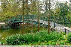 Passerelle au Jardin public - Bordeaux