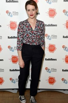 Claire Foy Doffs Her Crown for the BFI  Radio Times TV Festival