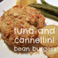 Extra Off Coupon So Cheap diet recipe tuna cannellini bean burgers Tuna Recipes, Wrap Recipes, Diet Recipes, Vegetarian Recipes, Cooking Recipes, Healthy Recipes, Healthy Dinners, Seafood Recipes, Healthy Foods