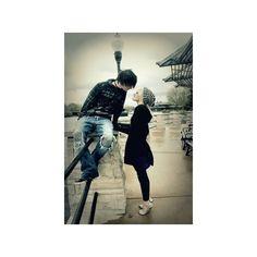 Emo couple image by stinakayem on Photobucket liked on Polyvore