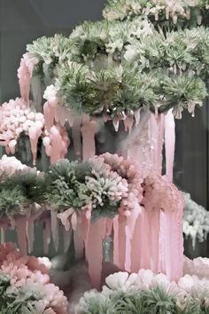 Frozen & Suspended Bonsai Tree Sculptures