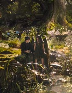Stefan and Young Maleficent from Disney's Maleficent