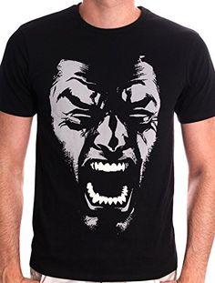Marvel Wolverine Rage - Camiseta para hombre, color negro, talla XL #regalo #arte #geek #camiseta