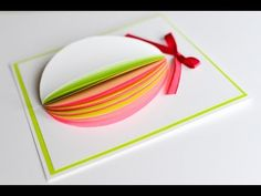 How to Make - Easter Egg Greeting Card - Step by Step Diy Easter Cards, Easter Greeting Cards, Easter Crafts, Diy Cards, Making Easter Eggs, Egg Card, Easter Colouring, Quilling Techniques, Pop Up Cards
