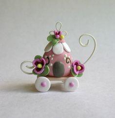 Carro de flor miniatura hada fantasía por C. Rohal
