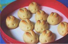 Culinária - Pão em forma de coelhinho