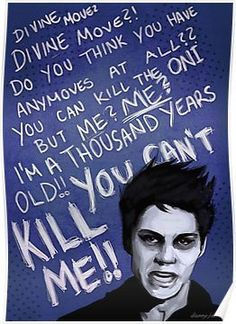Void!Stiles (Dylan O'Brien - Teen Wolf) Posters