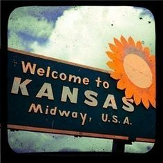 Kansas - you're in the middle of it all!