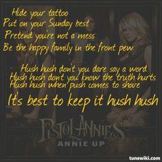 PISTOL ANNIES - HUSH HUSH