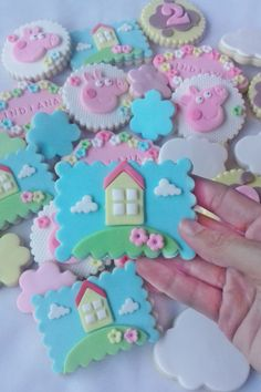 Visit the post for more. Pig Cookies, Fondant Cookies, Iced Cookies, Cupcakes, Cool Whip Cookies, Super Cookies, Fudge Cookie Recipe, Peanut Butter Cookie Recipe, Pasta Ballina