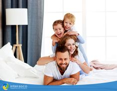 Kids Laughing, Social Media Graphics, Happy Family, Health Tips, Toddler Bed, Father, Ads, Couple Photos, Children Laughing