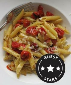 Tomato Penne.  The Easiest Midweek Meal Ever