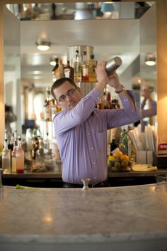 Friday Happy Hour: Monday Mixology at Tides Beach Club in Kennebunkport, Maine - Spoon & Shutter Friday Happy Hour, Kennebunkport Maine, Architectural Elements, Beach Club, Shutter, Bartender, Spoon, Blind, Spoons