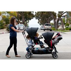 triple stroller - i think i might need this!