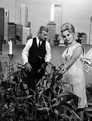 Publicity photo for the premiere of the show, Green acres.