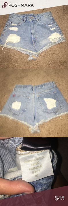 urban outfitters jean shorts never worn! Urban Outfitters Shorts Jean Shorts
