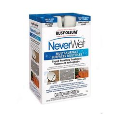 Rustoleum Countertop Paint Home Depot Canada : RUSTOLEUM - Neverwet Liquid Repellant Kit - $25.97 at Home Depot for ...