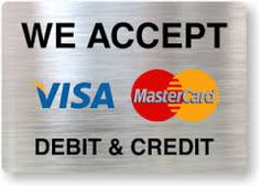 We Accept Debit And Credit Label - business credit card Mobile Locksmith, Youtube Comments, Business Credit Cards, Signs, Label, Quotes, Image, Quotations, Shop Signs