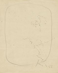 Lucio Fontana. Untitled. 1956