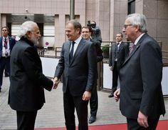 INDIA-EUROPEAN UNION BOOST STRATEGIC PARTNERSHIP AS FREE TRADE TALKS FLOUNDER