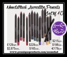 Moodstruck Precision Pencil Set Box Set of 15 Play with the possibilities with this complete set.