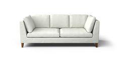 Stockholm 3 Seater Sofa Cover - Beautiful Custom Slipcovers | Comfort Works
