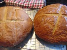 THE BLESSED HEARTH: Sour Dilly Rye Bread...