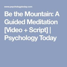 the blissful mind guided meditation script  guided