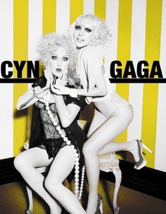 Cyndi Lauper + Lady Gaga.