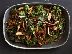 Broccoli Rabe and Shiitakes Recipe : Food Network Kitchens : Food Network - FoodNetwork.com
