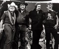 "The Highway Men. Willie, Waylon, Johnny, and Kris: The Highwaymen perform classics like ""Big River,"" ""Me and Bobby McGee"" and ""Always on My Mind."""