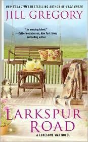 Larkspur Road by Jill Gregory | Romance | Fifth grade teacher Mia Quinn expected a tranquil summer in her hometown of Lonesome Way, Montana, sewing for her quilting group's exhibition fundraiser and caring for her rescued dog, Samson. But all her plans for a relaxing break are thrown out the window when Travis Tanner -- the boy who broke her heart in high school -- returns to town with his ten-year-old adopted stepson. | Find it at PCLS: http://catalog.popelibrary.org/polaris/