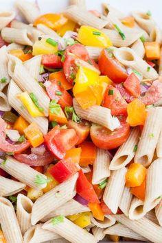 Summer Pasta Salad Recipe - Vegan Family Recipes
